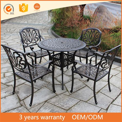 Cast Iron Patio Dining Set Used Cast Iron Patio Furniture Furnitu On Furniture Wrought Iron Patio For Best Material Outd
