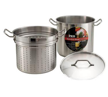 Weston Steamer Pot rm flagg restaurant equipment boiler 8 quart