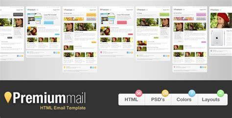 100 templates mailchimp emailings newsletters