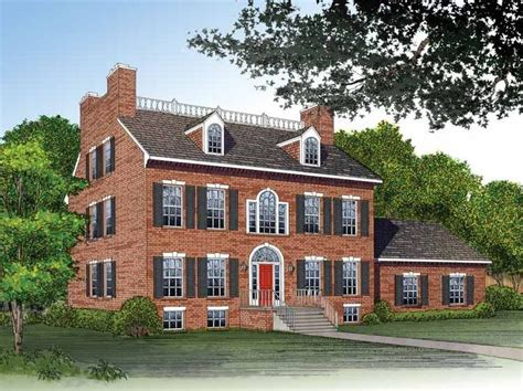 adam style house adam federal house plan with 3811 square and 4