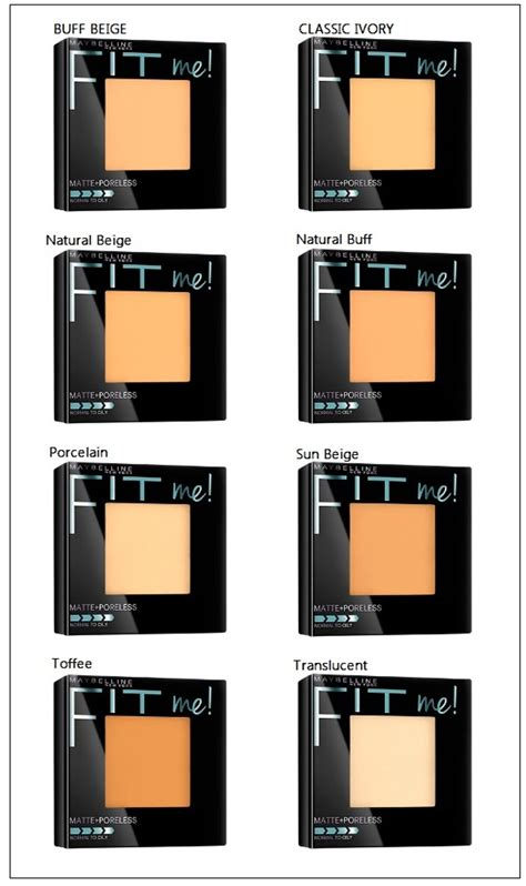 Maybelline Fit Me Di Watson jual maybelline fit me matte poreless powder di lapak mw