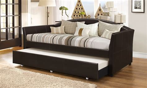 London Arched Sofa Trundle Bed Groupon Goods Sofa Trundle Beds