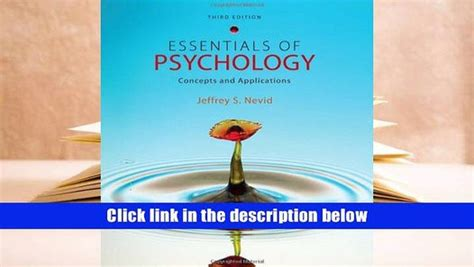 essentials of psychology concepts and applications pdf essentials of psychology concepts and