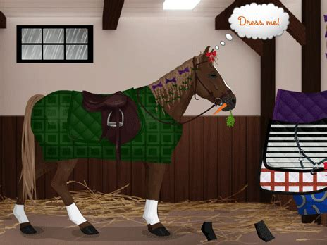 horse dressup game play   ycom