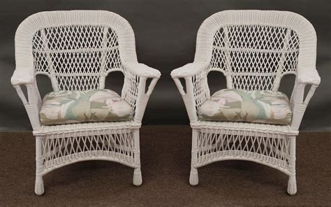 white wicker armchair indoor rattan chairs page wicker dining furniture wicker