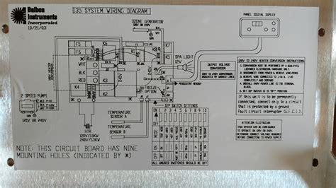 wiring balboa diagram instrument vs24orsistem wiring
