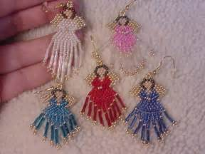 brick stitch earrings patterns free topic beaded angel earrings read 2979 times beading