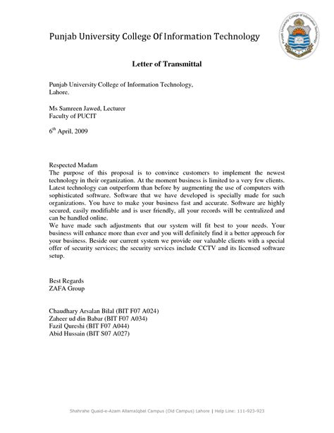 get yout letter of transmittal proposal to be impeccable by checking