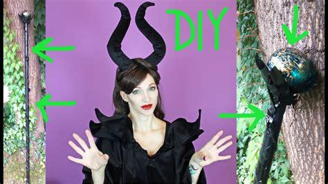 diy maleficent staff halloween   youtube