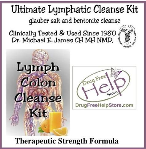 Lymphatic Cleansing And Detox by Lymphatic Glauber Salt Cleanse Kit Free Help Store