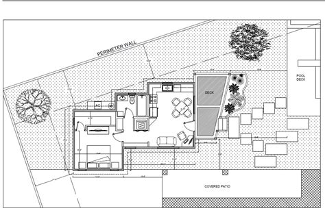 house plans with pool house guest house pool guest house daniel hidalgo archinect