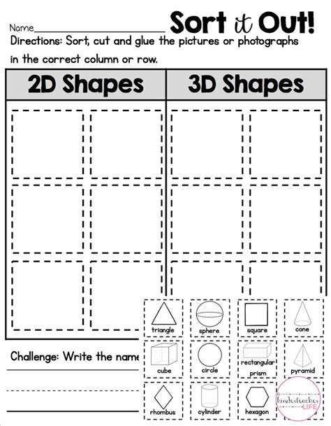 printable sorting shapes 17 images about love new kindergarten ideas on pinterest