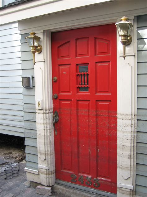 red door on house front doors creative ideas images of front doors