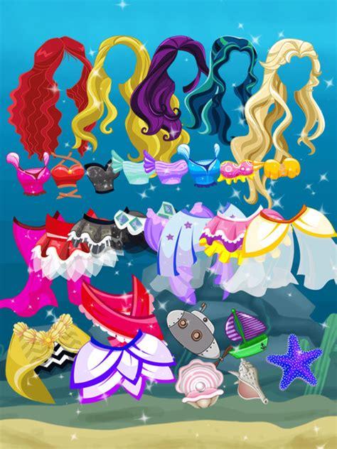 barbie mermaid dress up games app shopper the barbie princess little mermaid dress up