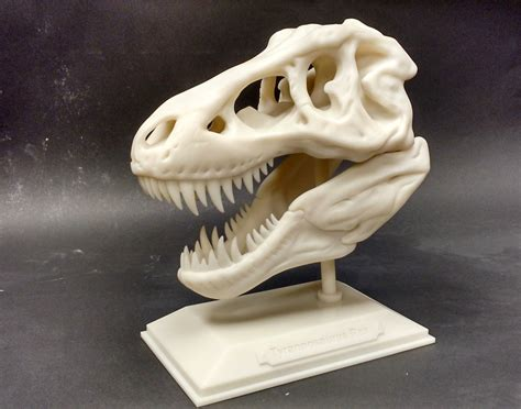 Free 3d Printer the realize 3d printed item of the month jurassic t rex