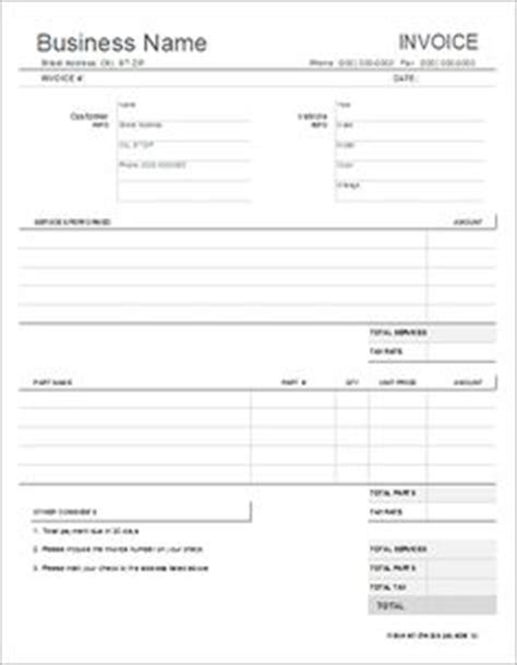 auto repair contract template free rental agreement forms rental lease and