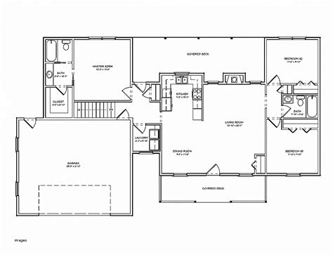3 Bedroom Ranch Style House Plans by Ranch Style House Plans Without Garage