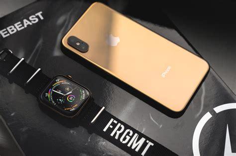 Golden Maxy 4 apple series 4 iphone xs gold closer look hypebeast
