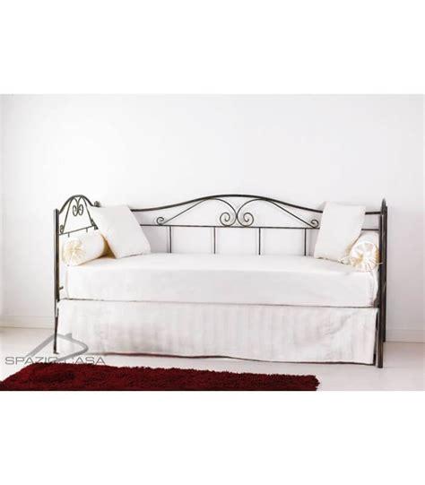 mantovana coprirete per divano letto in ferro battuto
