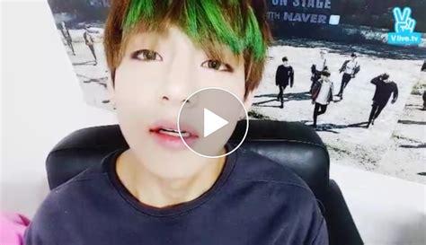 bts v live channel v live bts 화양연화 on stage live