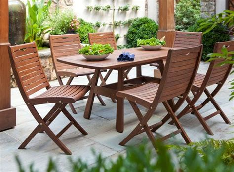 ipe patio furniture high quality ipe outdoor wood furniture this collection