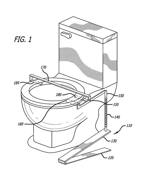 toilet seat lifter pedal patent us20120272442 foot operated toilet seat lift