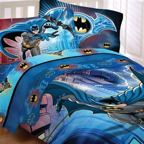 dc comforter 5pc batman lightning full bedding set dc comics comforter