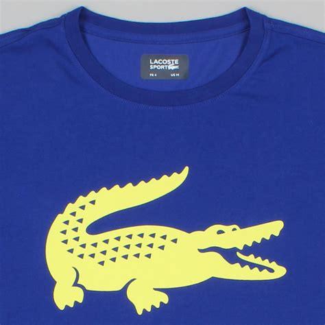 Lp Kaos T Shirt Eight And Nine New Ukm lacoste t shirt logo blue new items availble