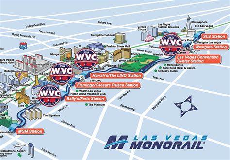 vegas monorail map las vegas monorail