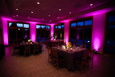 Up Lighting wedding lighting and special event lighting for chicago