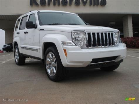 2011 Jeep Liberty Colors 2011 Bright White Jeep Liberty Limited 44866698
