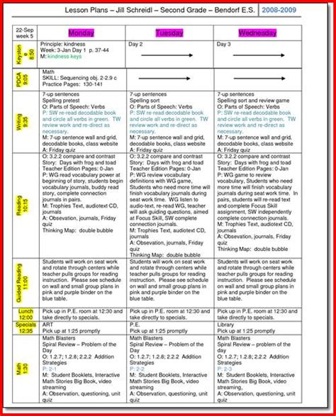 2nd grade science lesson plans kristal project edu hash