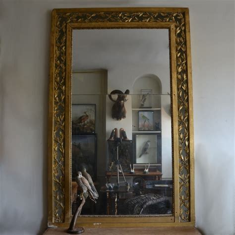 Gilt Home by Large Gilt Overmantle Mirror C 1820