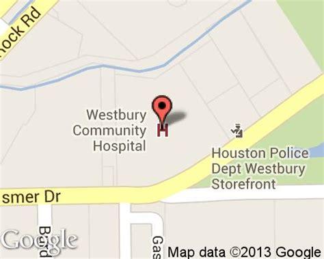 map of texas hospitals westbury community hospital