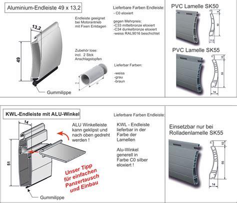 rolladen lamellen rolladenbehang panzer aus kunststoff aluminium nach ma 223