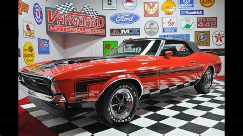 motor sales 1971 ford mustang convertible classic car for sale