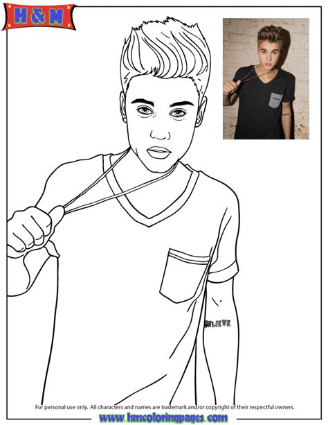 justin bieber coloring pages justin justin bieber colouring pages page 2