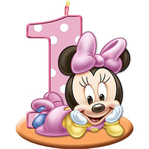 pic candle turns one today happy birthday d by piccandle imagens minnie rosa fazendo a minha festa