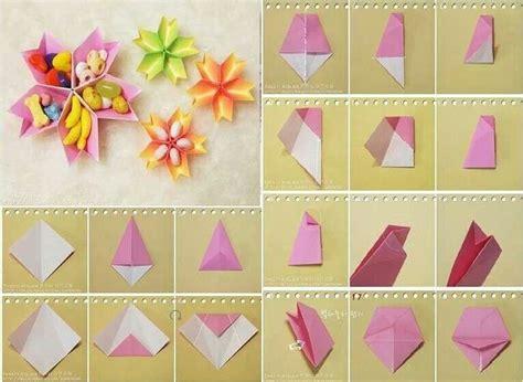How To Fold A Tissue Paper Flower - papieren bloemen schaal vouwen diy feest versiering