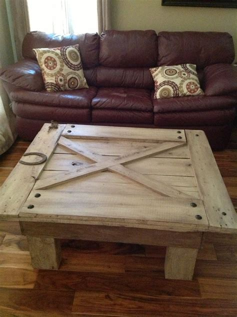 how to a door into a table barn door turned into a coffee table houses