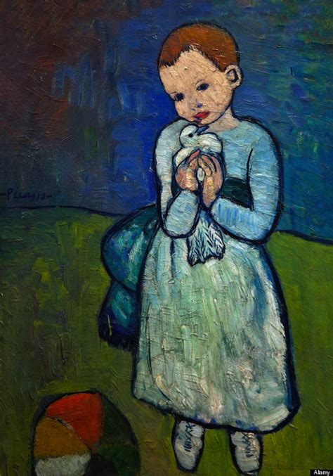 picasso paintings and child becoming picasso