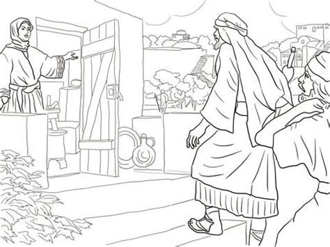 New Room Built For Elisha Coloring Page new room built for elisha coloring page from prophet
