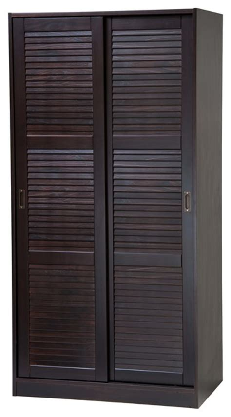 Solid Wood Sliding Closet Doors 100 Solid Wood 2 Sliding Door Wardrobe Armoire Closet Interior Doors By Palace Imports