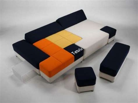 Puzzling Modular Furniture Tetris Couch