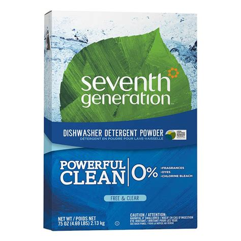 seventh generation free and clear automatic dishwasher