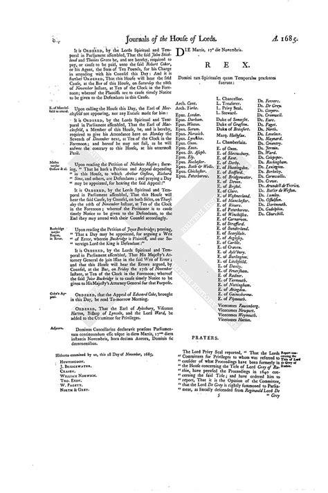 mla letter format house of journal volume 14 16 november 1685 1767