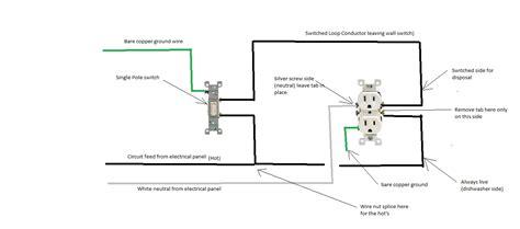 garbage disposal switch under garbage disposal wiring schematic wiring diagram with