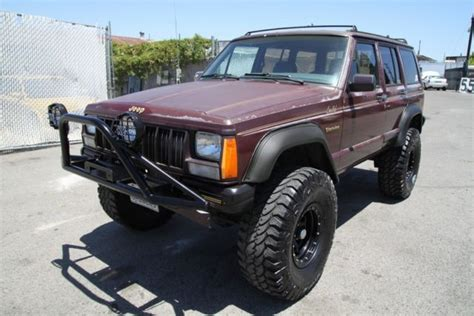 Jeep 4wd 1988 Jeep Limited 4wd Automatic 4 Cylinder No Reserve