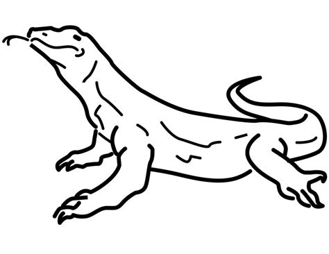 monitor lizard coloring pages coloring pages monitor lizard printable for kids