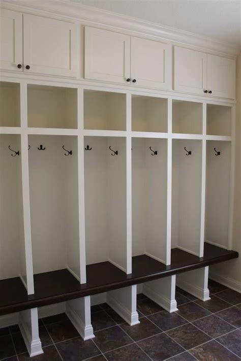 mudroom cabinets and benches custom built mudroom lockers with upper cabinets solid